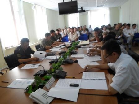 В ДЧС Мангистауской области подвели итоги за шесть месяцев