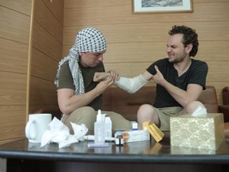 В Бейруте напали на казахстанских журналистов