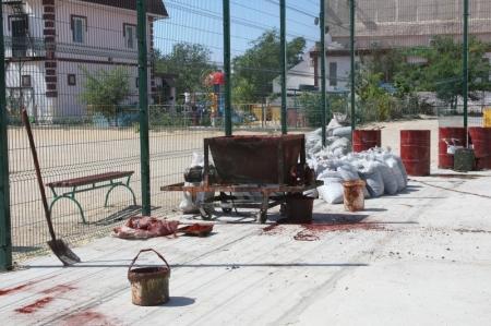 В Актау на спортивных площадках применяется новое покрытие