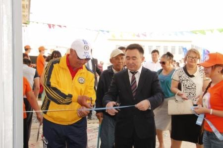 В Каракиянском районе Мангистауской области открыт новый спортивный зал