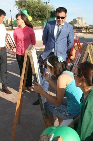 В Актау прошел конкурс молодых художников
