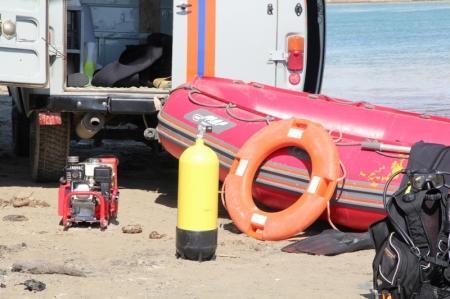 В Актау на водосбросном канале «МАЭК-Казатомпром» установили спасательный пост