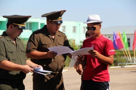 Спасатели водно-спасательной службы провели в детском лагере инструктаж о безопасности пребывания на воде