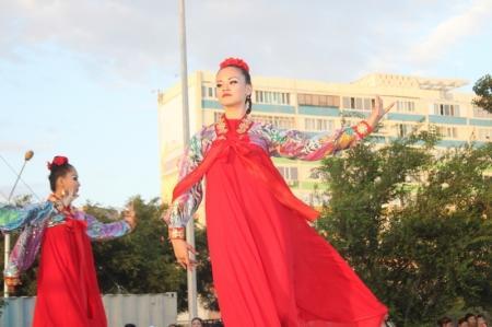 В Актау отметили 15-летие Астаны