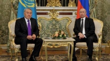 Путин прилетел в Казахстан