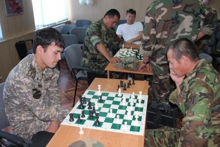 Пожарные Актау провели шахматный турнир