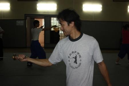 Актауских ушуистов готовит к соревнованиям мастер Хаоджуна Жуо