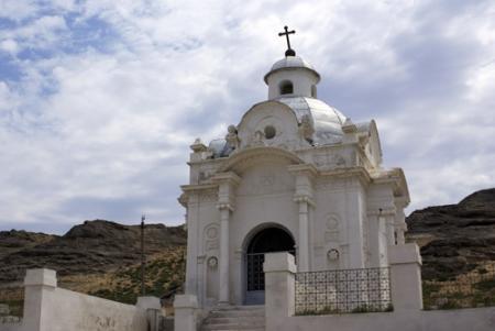 В Форту-Шевченко привели в порядок старое православное кладбище и часовню
