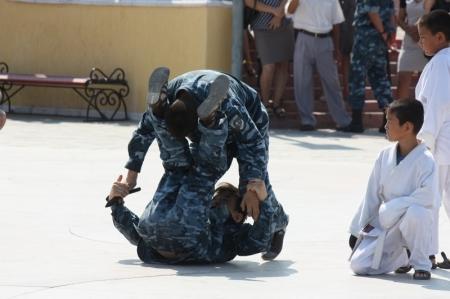 В Актау ряды внутренних войск пополнили 156 новобранцев