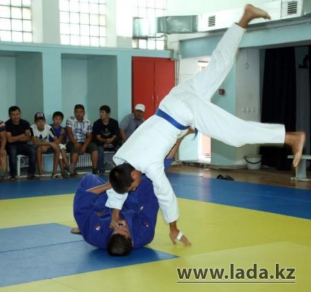 Мангистауские дзюдоисты готовятся к международному турниру