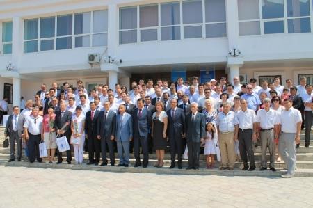 Сотрудники КНБ отметили профессиональный праздник