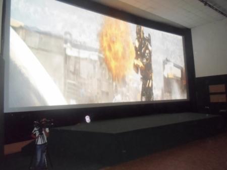 В Жанаозене открылся кинотеатр