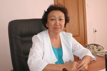 Галина Туманбаева: Кондиционеры установят в каждом кабинете поликлиники