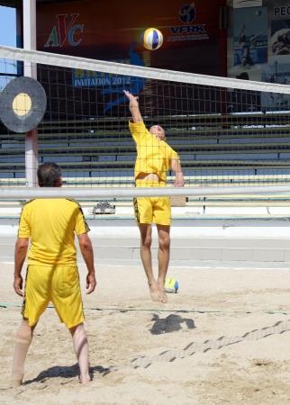 В Актау прошел чемпионат РК по пляжному волейболу среди инвалидов