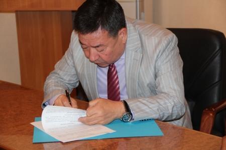 В Актау между акиматом и крестьянскими хозяйствами были подписаны меморандумы о взаимном сотрудничестве