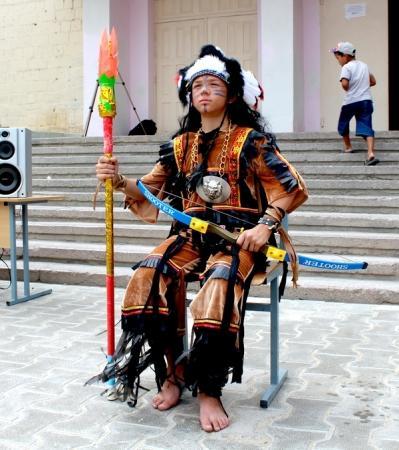 В Актау прошел слет индейских племен