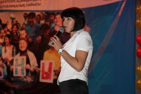 В Актау прошел отборчный тур конкурса среди детей с ограниченными возможностями
