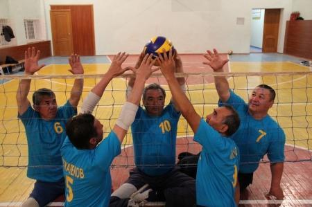 Международный турнир по волейболу среди спортсменов инвалидов пройдет в Актау