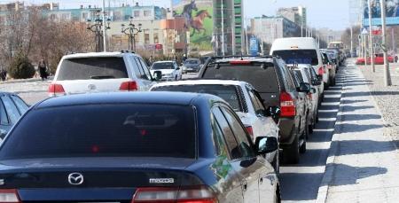 Количество автотранспорта в Мангистауской области достигло почти 140 тысячной отметки