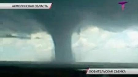 Торнадо зафиксировали в Акмолинской области