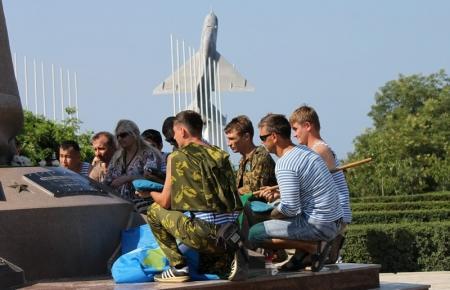 В Актау отметили день Воздушно-Десантных Войск