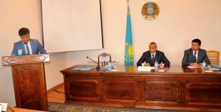 Кандидаты в акимы села Умирзак встретились с депутатами городского маслихата