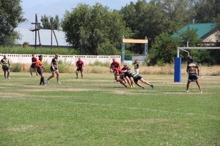 Актауские регбисты занимают шестую строчку в турнирной таблице чемпионата РК
