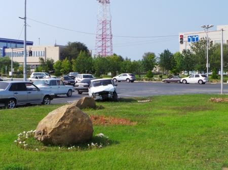 Аварии в Актау воскресным утром (фото)