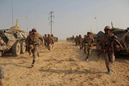 Военные учения «Батыс-2013» стартовали в Мангистауской области