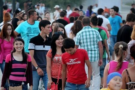 Актау отметил День Каспия и День молодежи