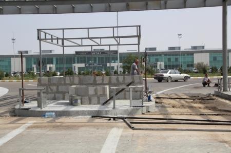 В аэропорту Актау устанавливают автоматизированную парковочную систему
