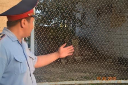 В Актау во время рейда задержано около сорока бомжей