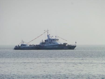 В субботу в Актау состоится парад военных кораблей