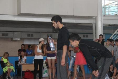 Братья-близнецы из Астаны стали победителями открытого турнира по брейк-дансу «Caspian battle - 2013»