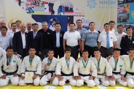 У мангистаусцев первое общекомандное место на международном турнире по дзюдо