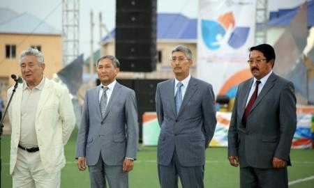 В Жанаозене стартовала спартакиада нефтяников