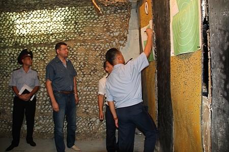 В Актау начались отборочные соревнования по стрельбе среди сотрудников УВД