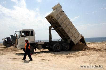 Ада Ким: Свыше 500 миллионов тенге выделено из бюджета Актау на строительство набережной в 15 микрорайоне