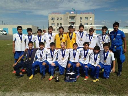 Актауские юные футболисты стали чемпионами республиканского первенства