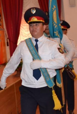 В День конституции в ДВД Мангистау наградили самых талантливых полицейских