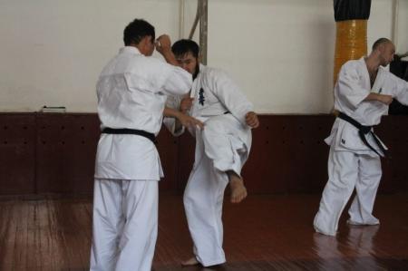 В Актау прошли сборы и чемпионат области по киокушинкай каратэ