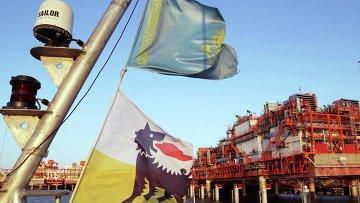 Первые баррели нефти добыты на Кашагане