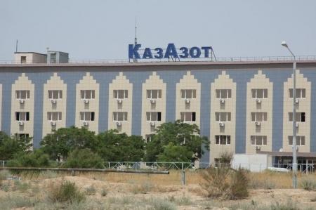 ТОО «КазАзот» обязали очистить загрязненную территорию от серных отходов