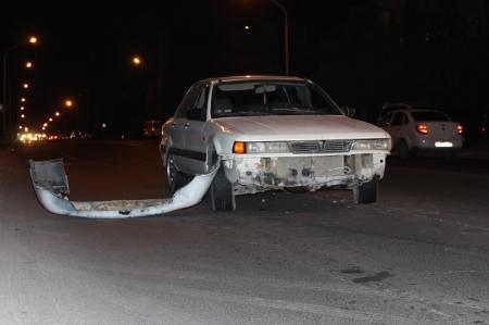 На перекрестке 5, 6, 7, 8 микрорайонов произошла авария