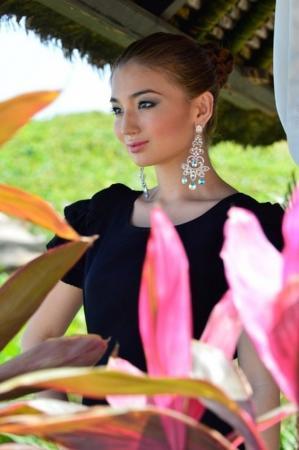 """""""Мисс Казахстан"""" представила свою визитку на """"Мисс Мира"""""""