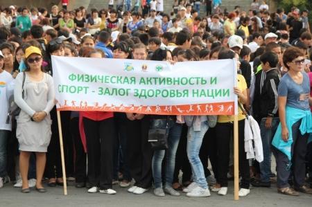 Фестиваль здоровья пройдет в Актау в субботу