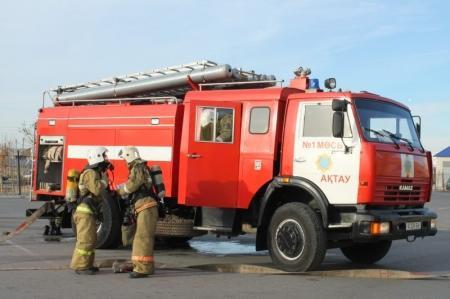 В поселке Атамекен при пожаре погибла женщина