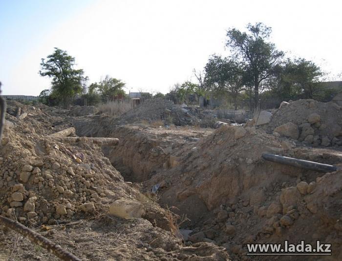 История озеленения Актау. Первый питомник