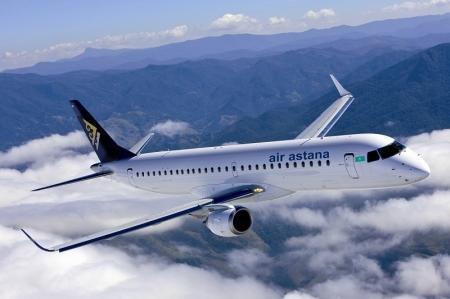 Пьяная драка произошла на борту самолета авиакомпании «Эйр Астана»