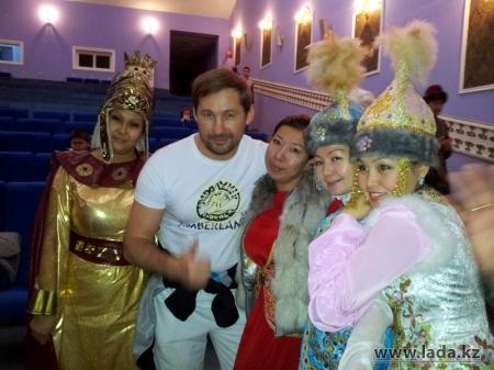 Актауский актер Эдуард Табишев сыграл одну из ролей в новом казахстанском телесериале